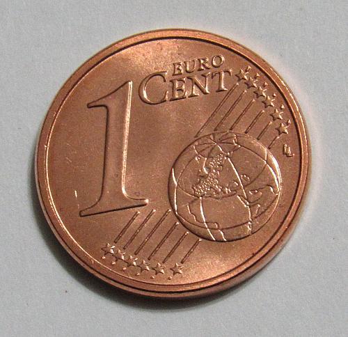 2002 Italy 1 Euro Cent