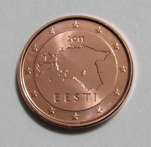 2011 Estonia 1 Euro Cent