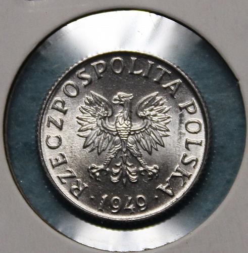 Poland 1949 1 grosz