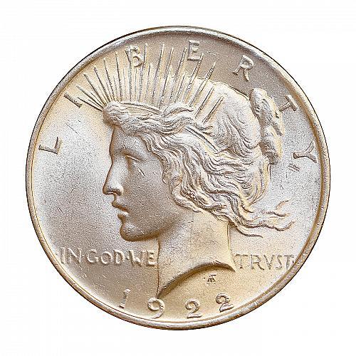 Superb - 1922 P Peace Silver Dollar - Gem BU / MS / UNC - High Grade Coin