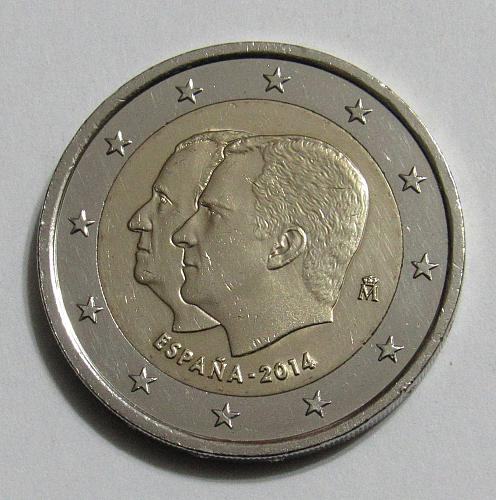 2014 Spain Commemorative 2 Euro