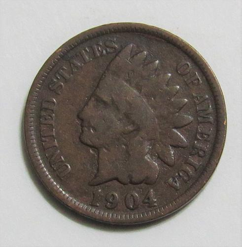 1904 1 Cent - Indian Head Cent