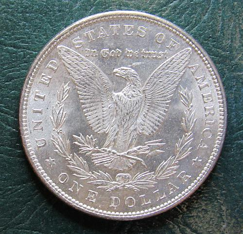 1886 P Morgan Silver Dollar