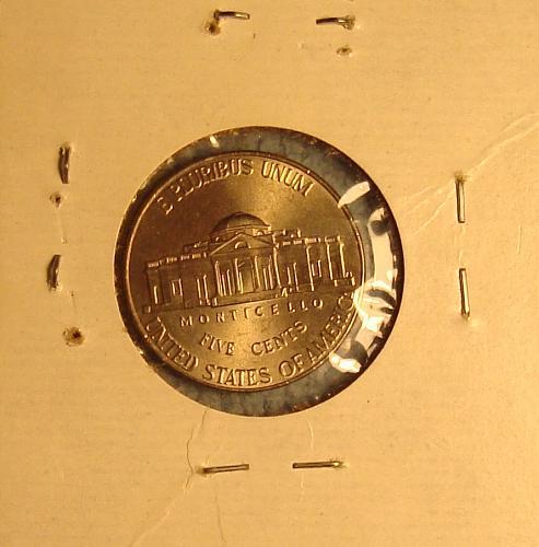 2011 D Jefferson Nickel BU