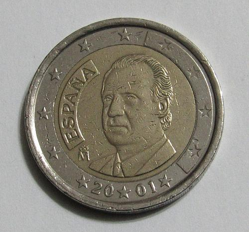 2001 Spain 2 Euro