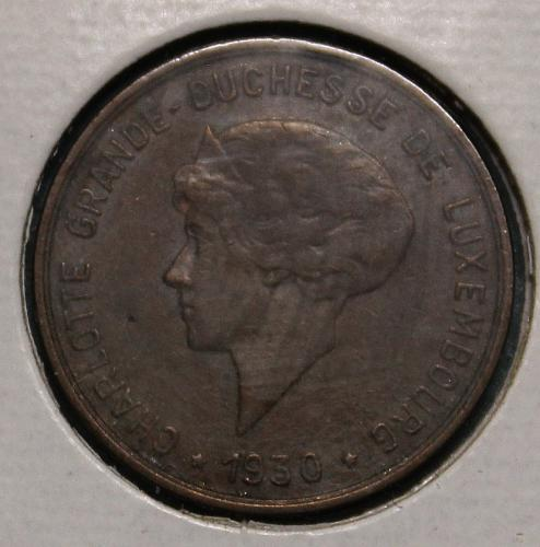 Luxembourg 1930 5 centimes