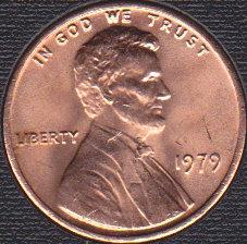 1979 P Lincoln Memorial Cent