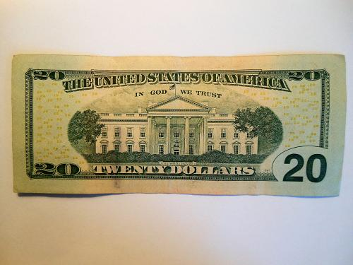 2013 $20 **Star Note** Federal Reserve Note Bill