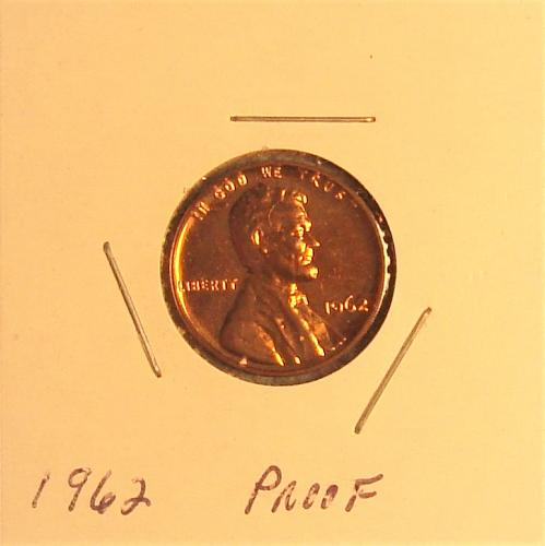 1962 P Lincoln Memorial Cent Small Cent Proof