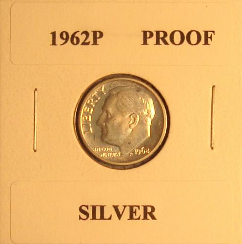 1962 P Roosevelt Dime Proof