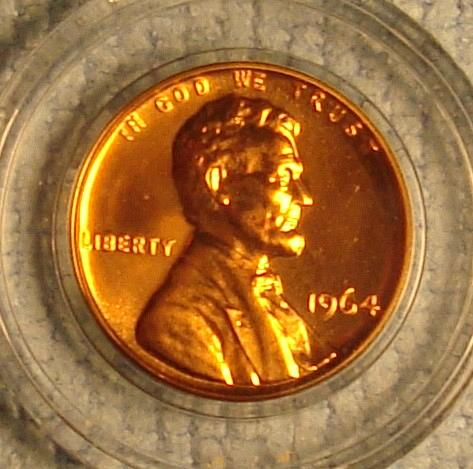 1964 P Lincoln Memorial Cent Small Cent Proof