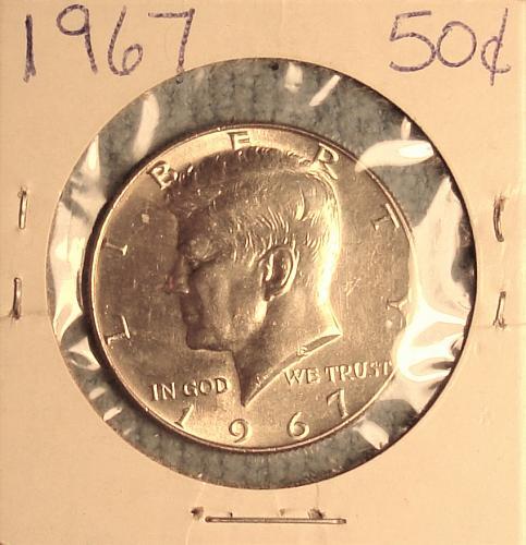 1967 P Kennedy 40% Silver Half Dollar