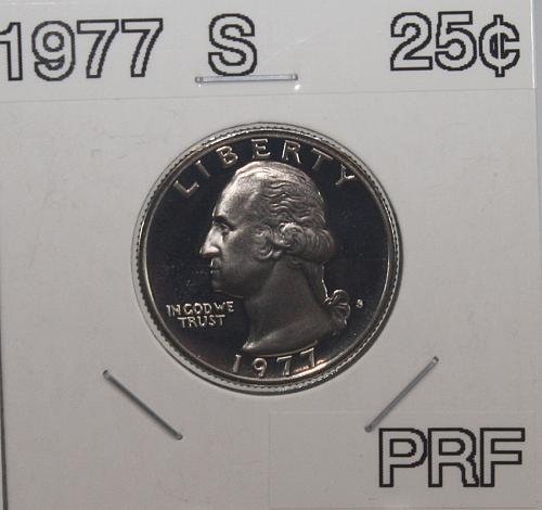1977 S Washington Quarter