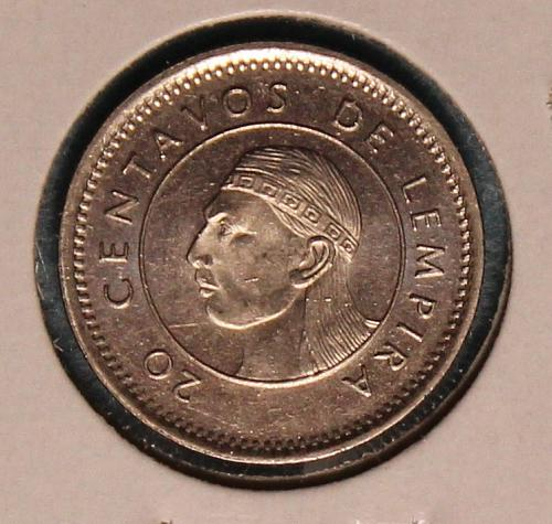 Honduras 1999 20 centavos