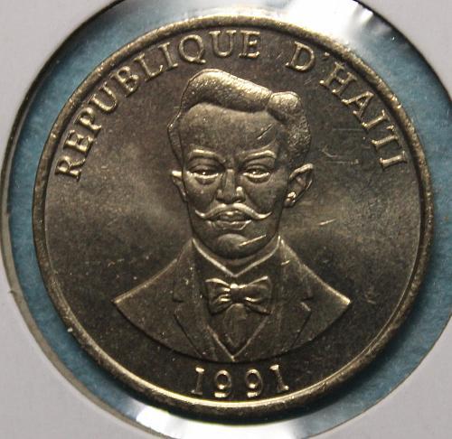 Haiti 1991 20 centimes