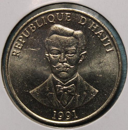 Haiti 1991 50 centimes
