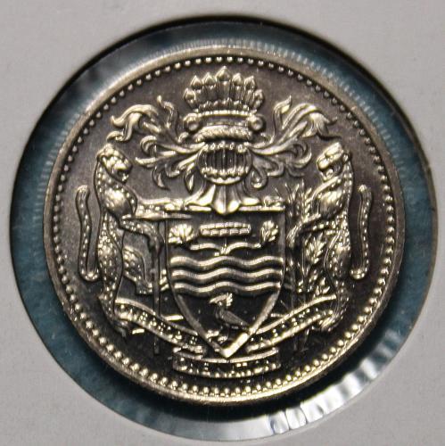 Guyana 1990 25 cents