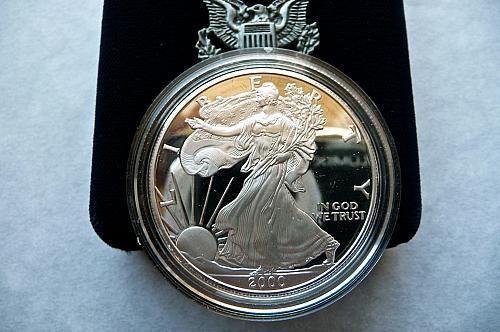 2000-P   American Silver Eagle