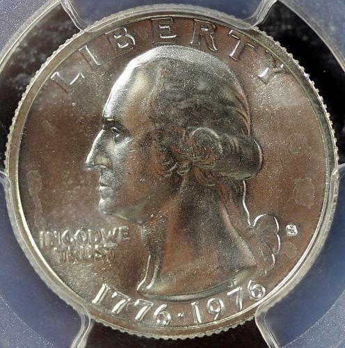 1976-S 25C PCGS MS66 Silver Washington Quarter (3252)