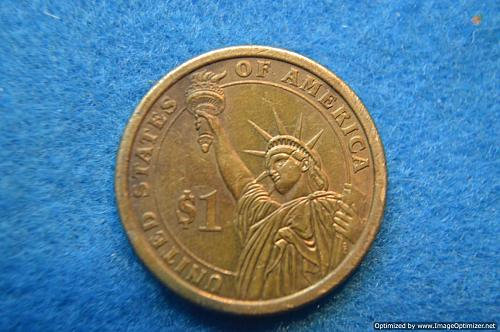 2010 D Presidential Dollars: James Buchanan