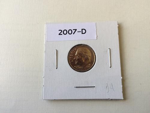 2007 D ROOSEVELT DIME