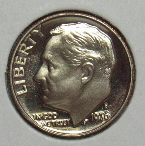 1976 S Proof Roosevelt Dime