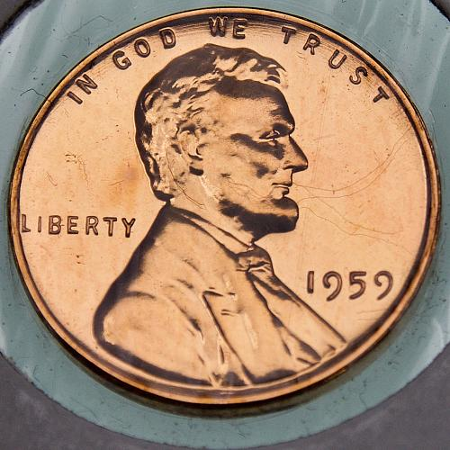 1959 P Lincoln Memorial Cent #1 PROOF