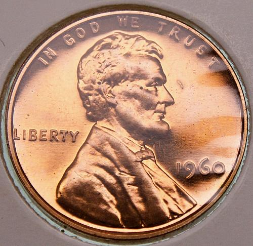 1960 P Lincoln Memorial Cent #1 PROOF Large Date