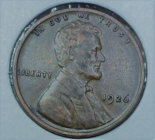 1926-P EXTRA FINE Lincoln Wheat Cent  XF ( 809)