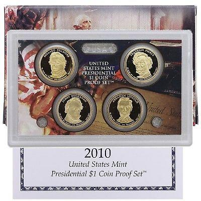 2010 US Mint Presidential $1 Coin Proof Set. Perfect!!! From sealed shipping box