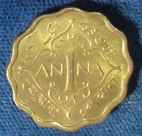 1945(b) India/British Anna AU