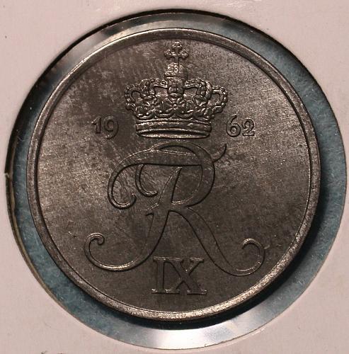 Denmark 1962 5 ore