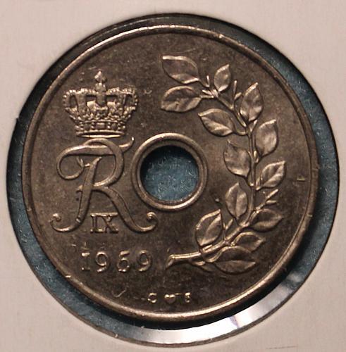 Denmark 1969 25 ore