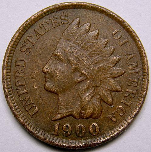 1900 P Indian Head Cent #21