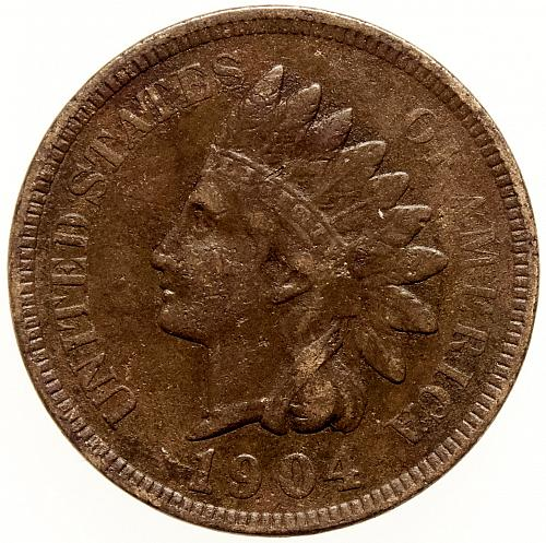 1904 Indian Head Cent #19
