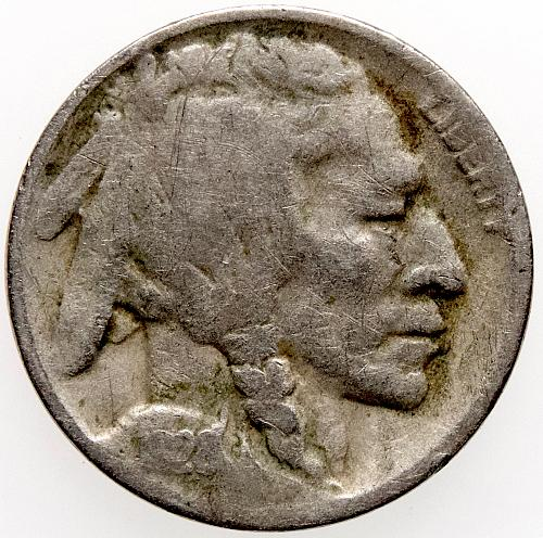 1928 D Buffalo Nickel#4