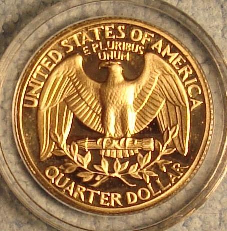 1979 S Washington Quarter Type 1 - Filled S Proof