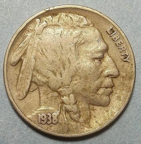 1938d Buffalo Nickel Lot Bfnxw
