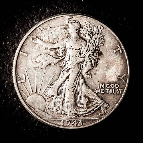1943 P Walking Liberty Half Dollars