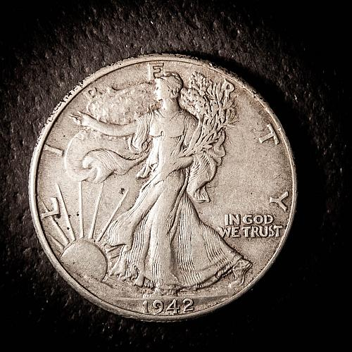 1942 P Walking Liberty Half Dollars