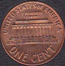 1972 P Lincoln Memorial Cent, Nicely Toned