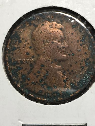 1909 Lincoln Wheat Cent Item 0119295