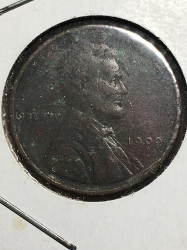 1909 Lincoln Wheat Cent Item 0119296