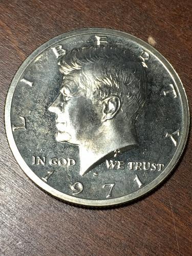 1971 S Kennedy Half Dollar Item 0219008