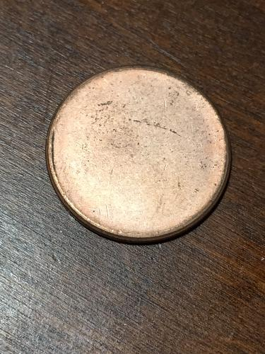 Blank Penny Planchet mint Error Coin Item 0219011