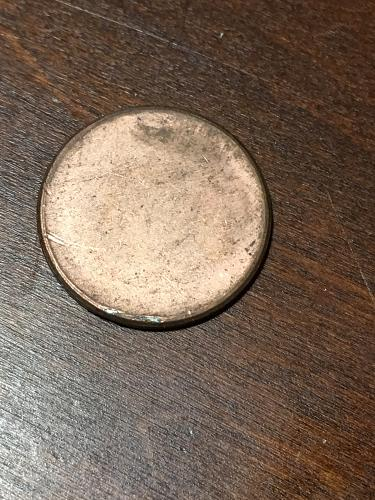 Blank Penny Planchet mint Error Coin Item 0219012