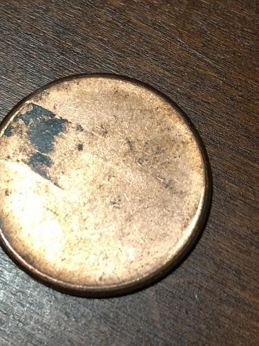 Blank Penny Planchet mint Error Coin Item 0219013