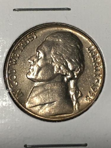 1958 Jefferson Nickel Item 0219033