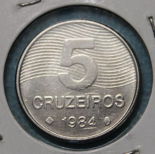 Brazil 1981 5 Cruzeiros