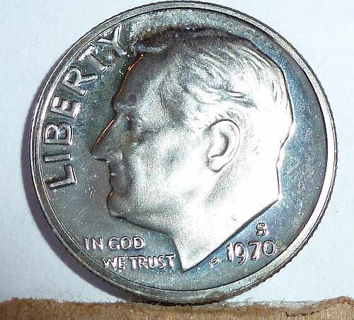 1970-S Proof Roosevelt Dime ( 403 )